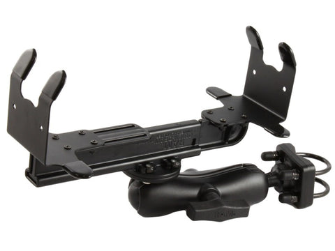 RAM-VPR-103-1 RAM Mounts Printer Cradle, Double Socket Arm & Double U-Bolt Base for the HP DeskJet 450/470-RAM Mounts - Synergy Mounting Systems