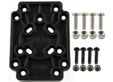 RAP-356U RAM Mounts Adapt-To-RAM™ Hole Pattern Plate Adapter -  - RAM Mounts - Synergy Mounting Systems - RAM Mounts Authorized Dealer