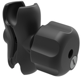 RAM-201U-BL RAM Mounts C-Size Short Double Socket Arm w/ Brass Key Lock Knob and 1.5-Inch Sockets -  - RAM Mounts - Synergy Mounting Systems - RAM Mounts Authorized Dealer