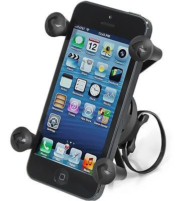 RAP-274-1-UN7U RAM Mounts EZ-ON/OFF Bike Mount w/ Universal X-Grip Phone Holder-RAM Mounts - Synergy Mounting Systems