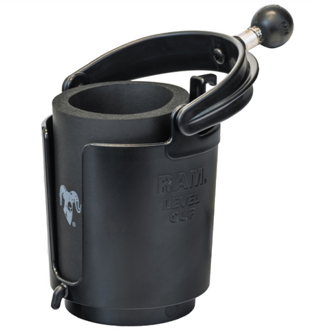 RAM-B-132BU RAM Mounts Self-Leveling Beverage Holder -  - RAM Mounts - Synergy Mounting Systems - RAM Mounts Authorized Dealer