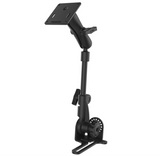 RAM-316-HD-2461U RAM Mounts Pod HD™ Vehicle Mount with 1-Inch Aluminum Rod and 75x75mm VESA Plate -  - RAM Mounts - Synergy Mounting Systems - RAM Mounts Authorized Dealer