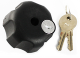 "RAM-KNOB3LU RAM Mounts Locking Knob with 1/4""-20 Brass Hole for B Size Arms -  - RAM Mounts - Synergy Mounting Systems - RAM Mounts Authorized Dealer"