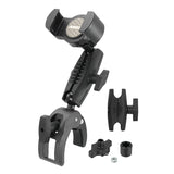 Arkon XLRMCPM RoadVise XL Robust Clamp Phone or Small Tablet Mount with Security Knob