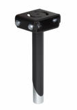 Gamber 7 in Center-Mounted Complete Pole w/Adjust. Height 7160-0178 -  - Gamber-Johnson - Synergy Mounting Systems - RAM Mounts Authorized Dealer