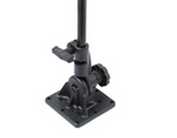 RAM-101U-VE2 RAM Mounts Velociti Floor Mount and Two Double Ball Mounts -  - RAM Mounts - Synergy Mounting Systems - RAM Mounts Authorized Dealer