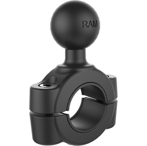 "RAM-B-408-75-1U RAM Mounts Torque 3/4"" - 1"" Diameter Handlebar/Rail Base with 1"" Ball -  - RAM Mounts - Synergy Mounting Systems - RAM Mounts Authorized Dealer"