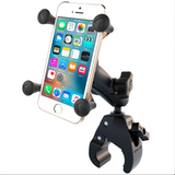 RAM-B-400-UN7 RAM Mounts X-Grip® Phone Mount with RAM® Tough-Claw™ Small Clamp Base -  - RAM Mounts - Synergy Mounting Systems - RAM Mounts Authorized Dealer