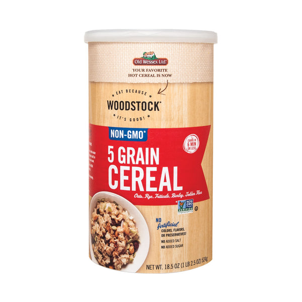 Woodstock 5 Grain Cereal - 18.5 Oz.