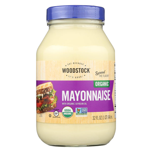 Woodstock Organic Mayonnaise - 32 Oz.