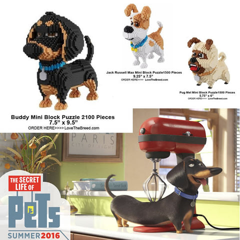 Dog Puzzles The Secret Life of Pets movie