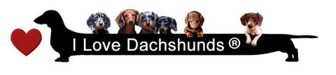 I LOVE DACHSHUNDS SHOP at LoveTheBreed.com