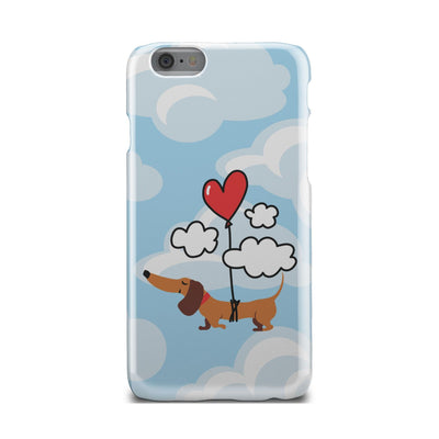 Cell Phone Cases Dachshund Heart Balloon Up Up and Away FREE SHIPPING