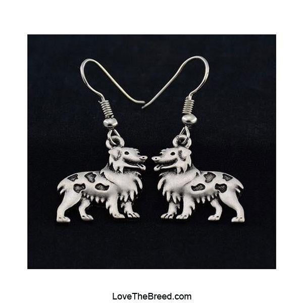 Australian Shepherd Charm Earrings