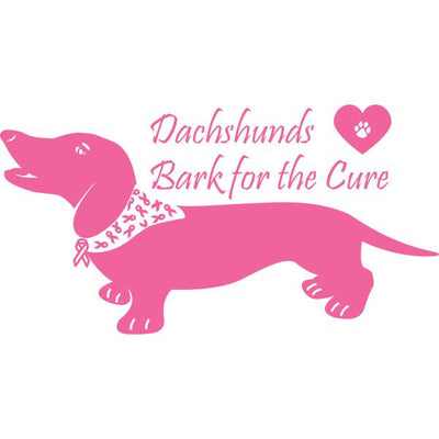 Dachshunds Bark For The Cure Night Shirt / Beach Cover-up