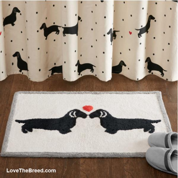 Dachshund Love Bath Mat