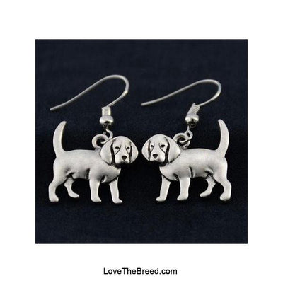 Beagle Charm Earrings