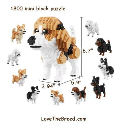 Beagle OR 10 Mini Dogs puzzle 1800 pieces