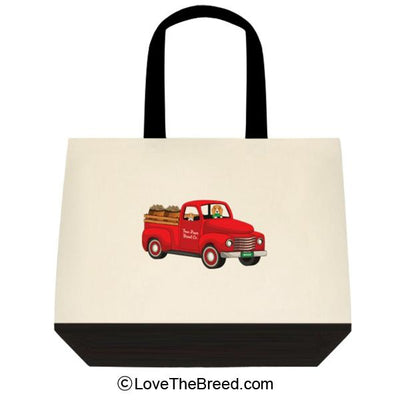 Beagle Biscuit Truck Extra Large Tote