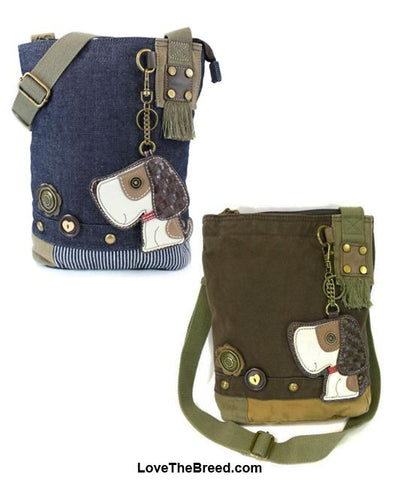 Beagle Dog Patch Crossbody Handbag Chala