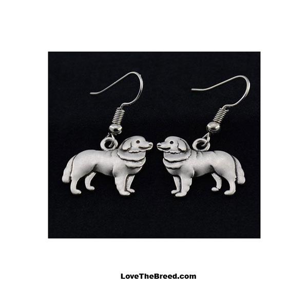 Bernese Mountain Dog Charm Earrings