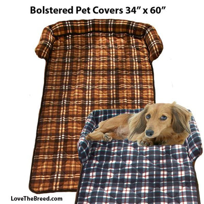 Bolstered Pet Furniture Bed Couch Cover