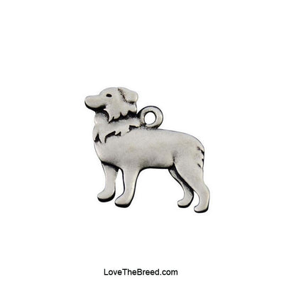 Border Collie Charm Earrings