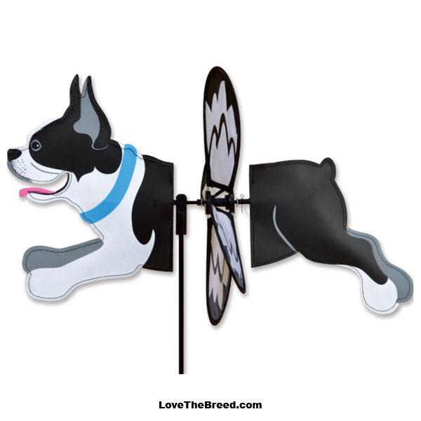 Boston Terrier Petite Wind Spinner