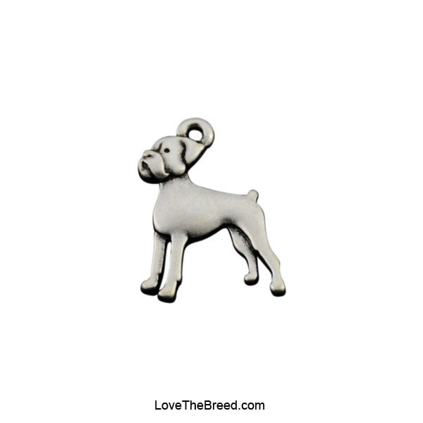 Boxer Charm Necklace
