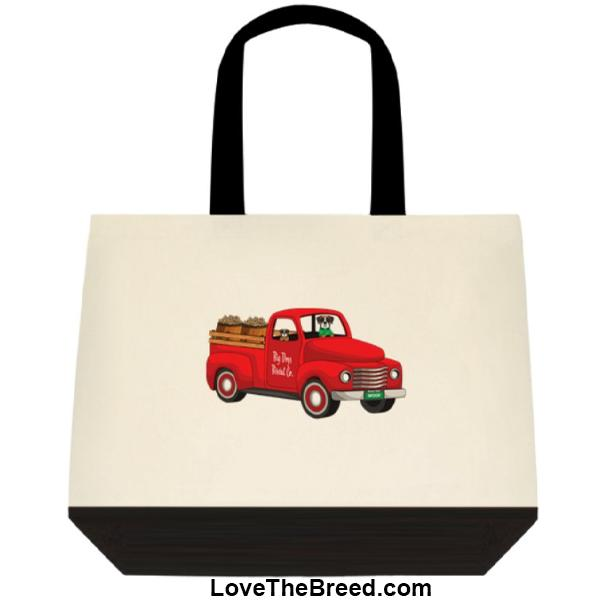 Boxer Biscuit Truck Extra Large Tote