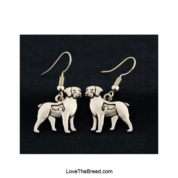 Brittany Spaniel Charm Earrings