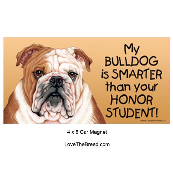 My Bull Dog is Smarter than Your Honor Student