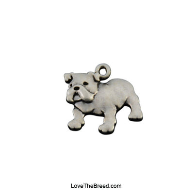 Bulldog Best Friend Love Charm Bracelet