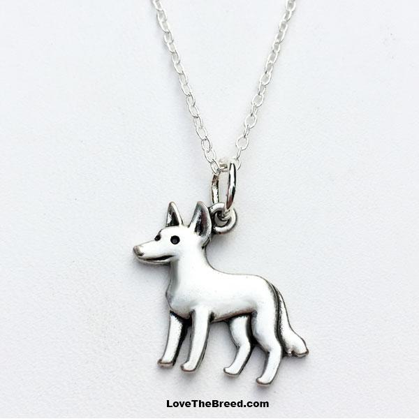 Cattle Dog Charm Necklace