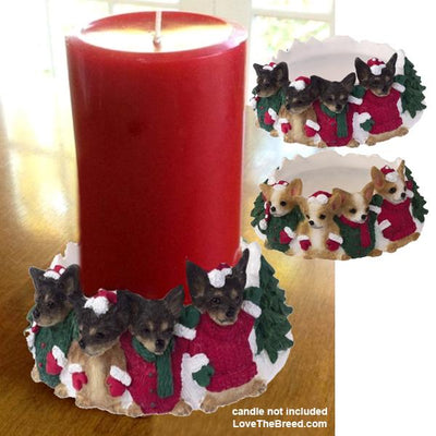 Chihuahua Candle Holder