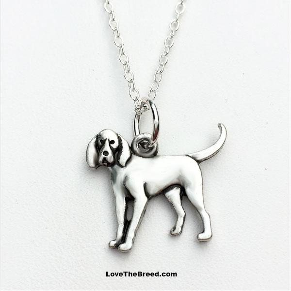 Coonhound Charm Necklace