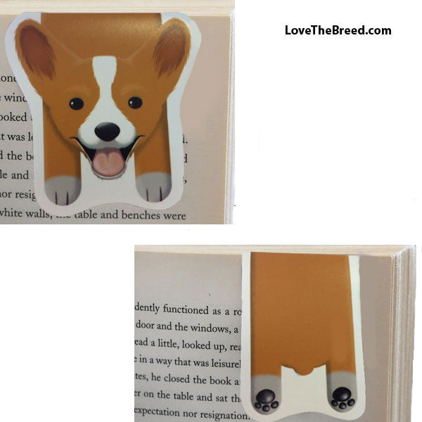 Corgi Magnetic Book Mark