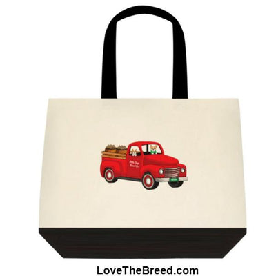 Corgi Biscuit Truck Extra Large Tote