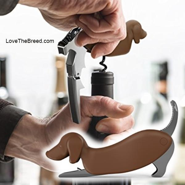 Dachshund Corkscrew Bottle Opener