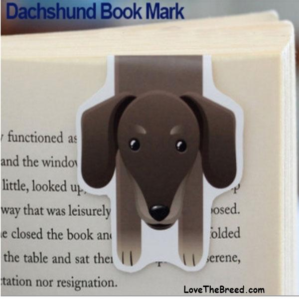 Dachshund Book Mark Magnetic