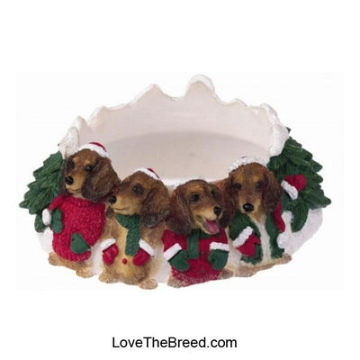 Dachshund Candle Holder