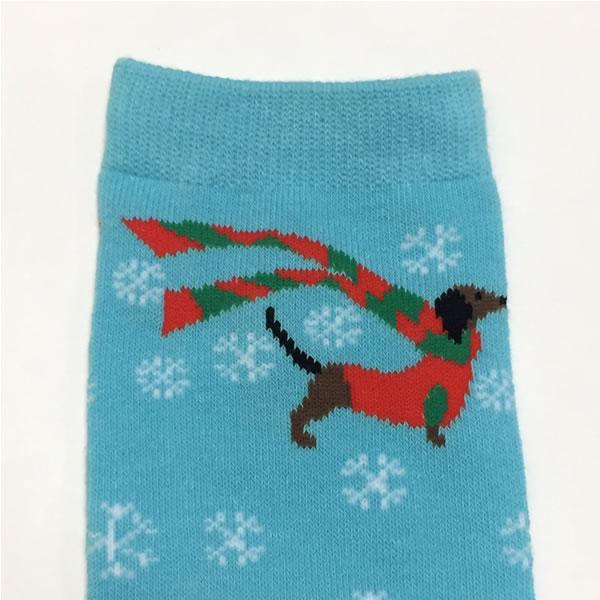 Dachshund Through the Snow Socks