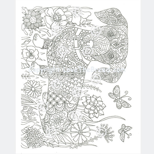 dachshund puppies coloring pages - photo#34