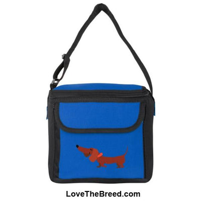 Dachshund Brown Small Cooler Bag