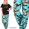 Dachshund Pajamas Set I Long to Be Around You