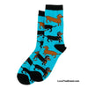 Dachshund Socks I Long to Be Around You