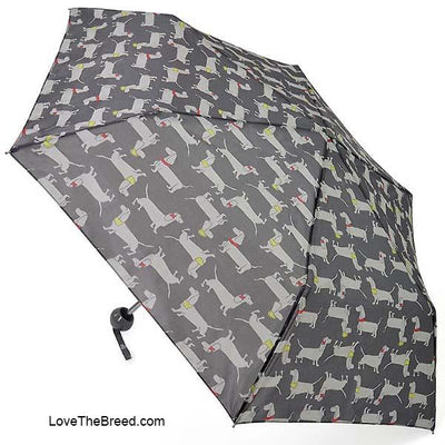 Dachshund Umbrella Small Portable Light Weight