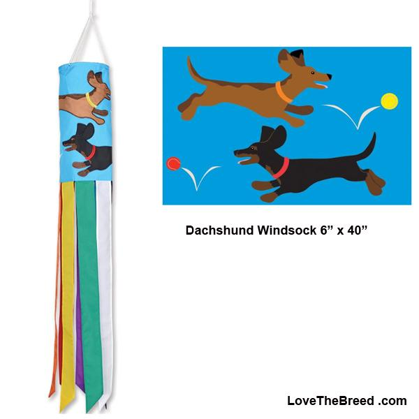 Dachshund Windsock