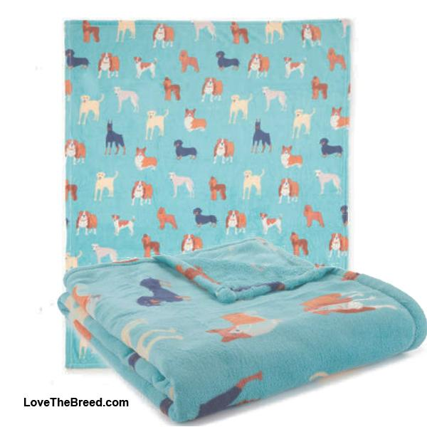 Dachshund and Friends Blanket Throw