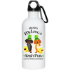 Dachshund Shorty McLong's Irish Pub 20oz. Stainless Steel Water Bottle + FREE CLIP